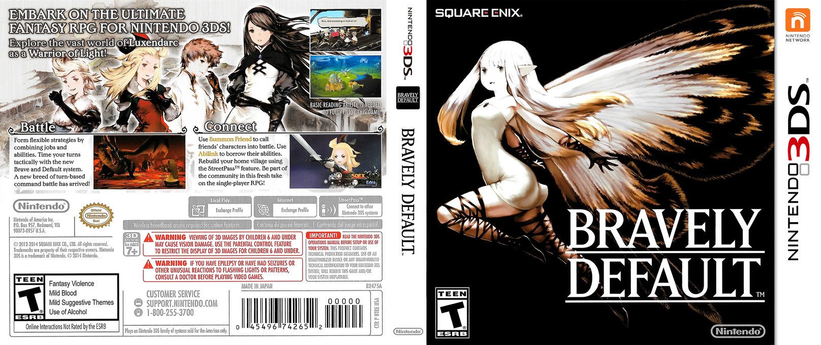 Bravely Default 3DS coverfullHQ (BTRE)
