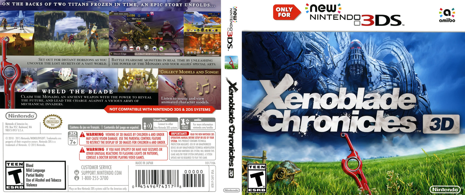 Xenoblade Chronicles 3D 3DS coverfullHQ (CAFE)