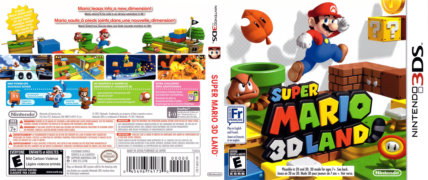 Super Mario 3D Land 3DS coverfullHQ (AREE)