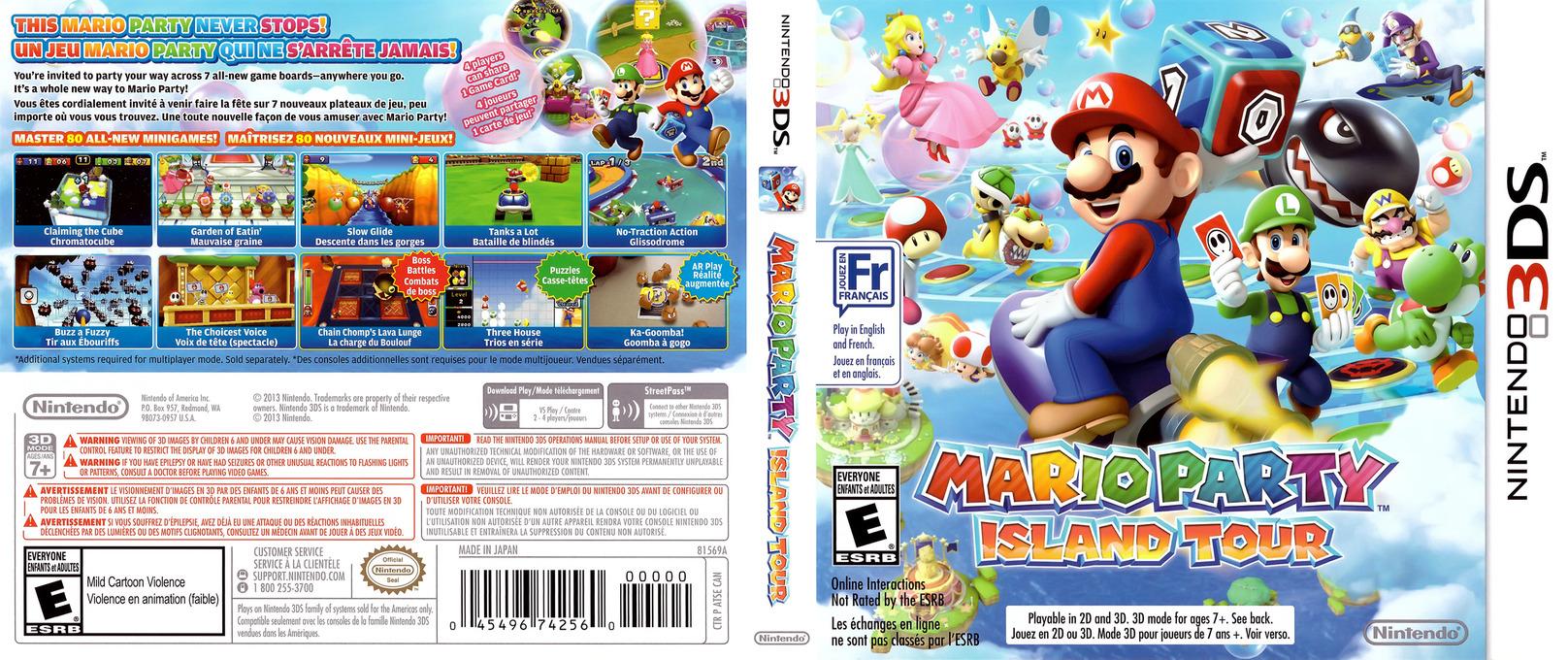 Mario Party Island Tour Party Mode