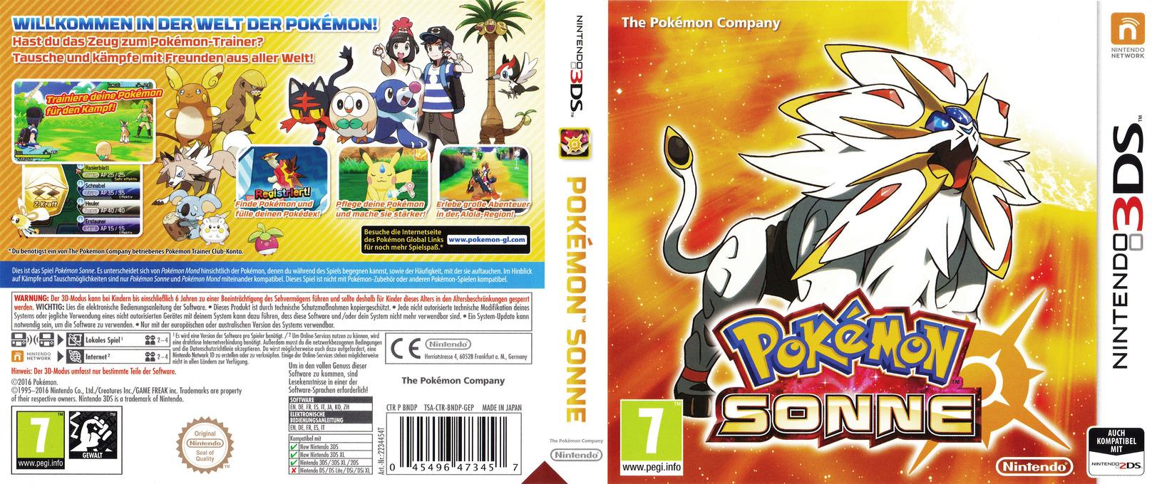 BNDP - Pokémon Sun
