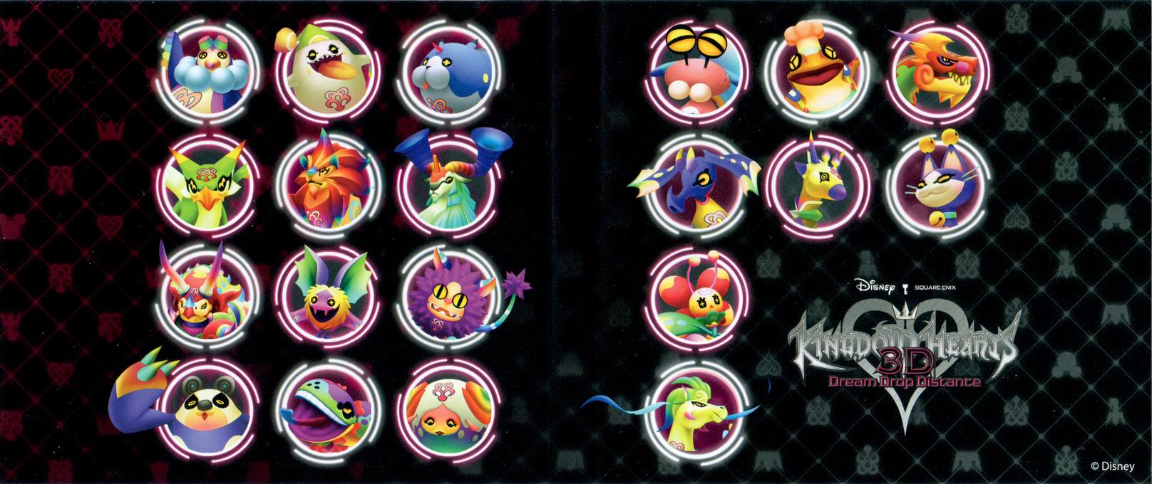 Kingdom Hearts 3D - Dream Drop Distance 3DS coverfullHQB (AKHE)