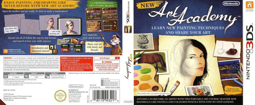 New Art Academy 3DS coverfullM (AACP)