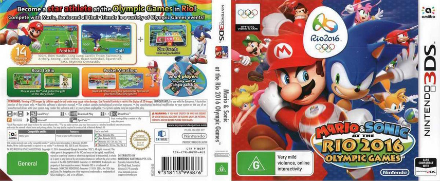 Mario & Sonic at the Rio 2016 Olympic Games 3DS coverfullM (BGXP)