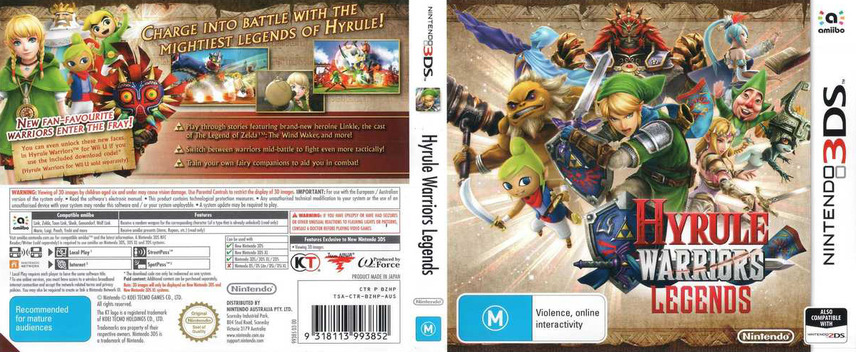 Hyrule Warriors Legends 3DS coverfullM (BZHP)