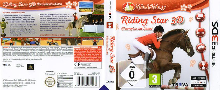 Riding Star 3D - Champion im Sattel 3DS coverfullM (ARSP)