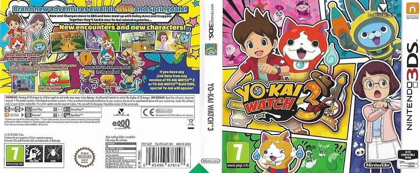 Yo-Kai Watch 3 3DS coverfullM (ALZP)