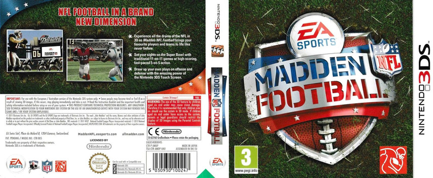 Madden NFL Football 3DS coverfullM (AMDP)