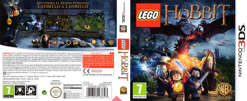 LEGO The Hobbit 3DS coverfullM (BLHX)