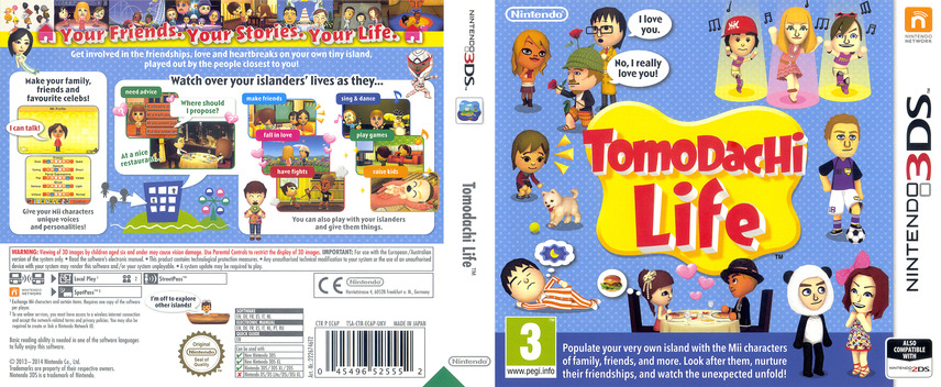 Tomodachi Life 3DS coverfullM (EC6P)