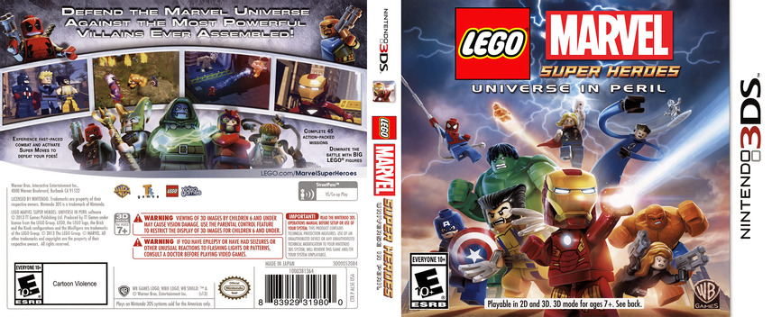 LEGO Marvel Super Heroes - Universe in Peril 3DS coverfullM (AL5E)