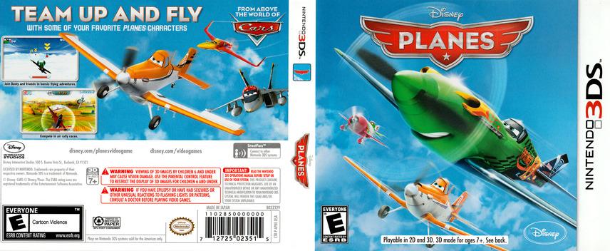Disney Planes 3DS coverfullM (APNE)