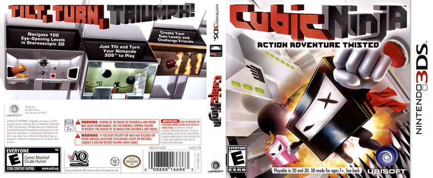Cubic Ninja 3DS coverfullM (AQNE)