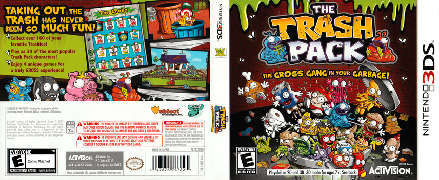 The Trash Pack 3DS coverfullM (ATZE)