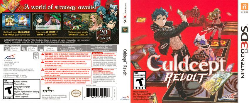 Culdcept Revolt 3DS coverfullM (AY3E)