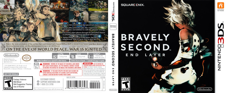 Bravely Second: End Layer 3DS coverfullM (BSEE)
