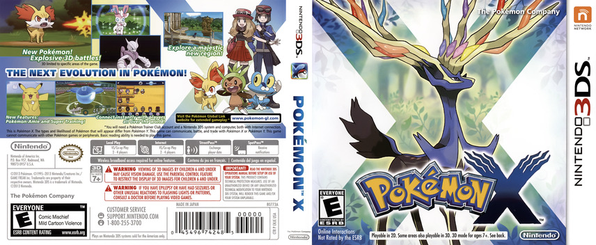 Pokémon X 3DS coverfullM (EKJE)