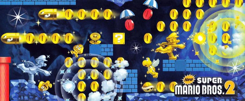 New スーパーマリオブラザーズ 2 3DS coverfullM2 (ABEJ)