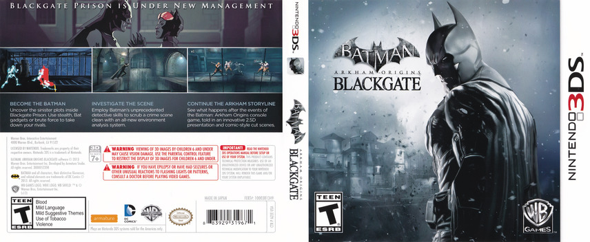 Batman - Arkham Origins Blackgate 3DS coverfullMB (AZEE)