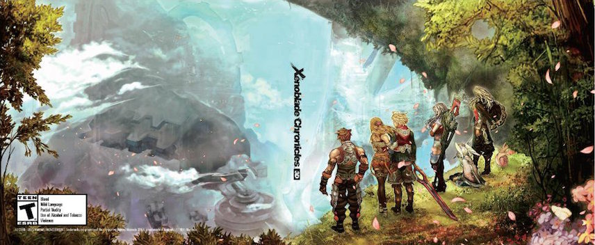 Xenoblade Chronicles 3D 3DS coverfullMB (CAFE)