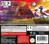 The Legend of Spyro - Dawn of the Dragon DS cover (YO8P)