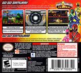 Power Rangers - Samurai DS cover (B3NE)