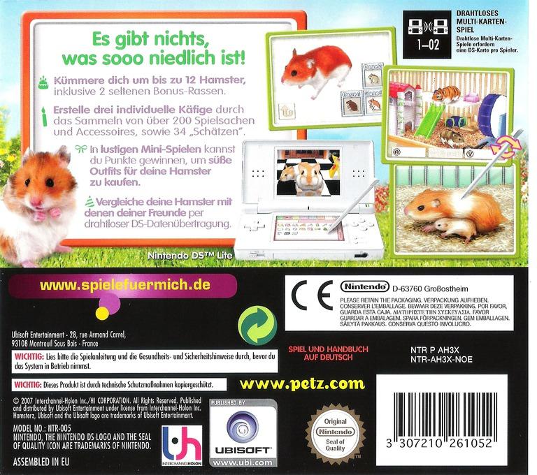 Petz - Hamsterfreunde DS backHQ (AH3X)