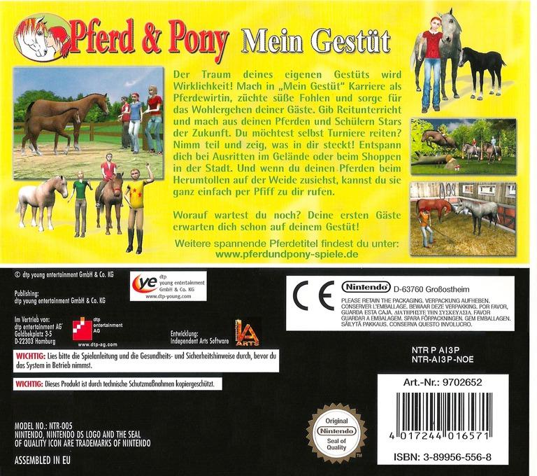 Pferd & Pony - Mein Gestüt DS backHQ (AI3P)