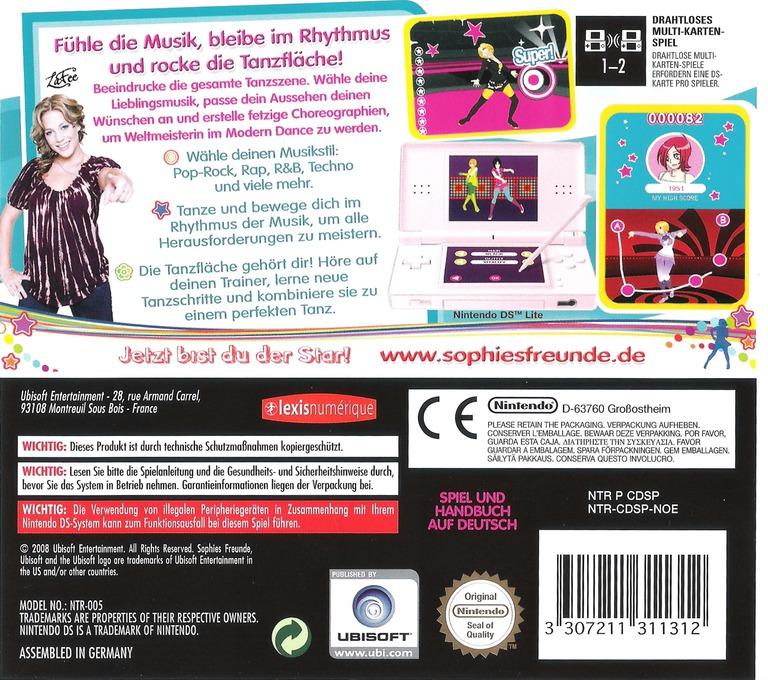 Sophies Freunde - Modern Dance DS backHQ (CDSP)