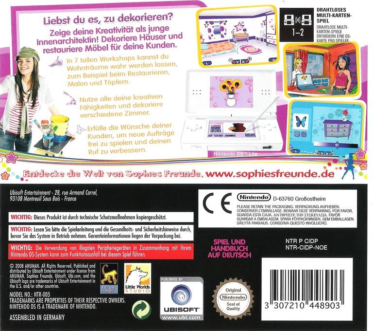 Sophies Freunde - Wohnträume DS backHQ (CIDP)
