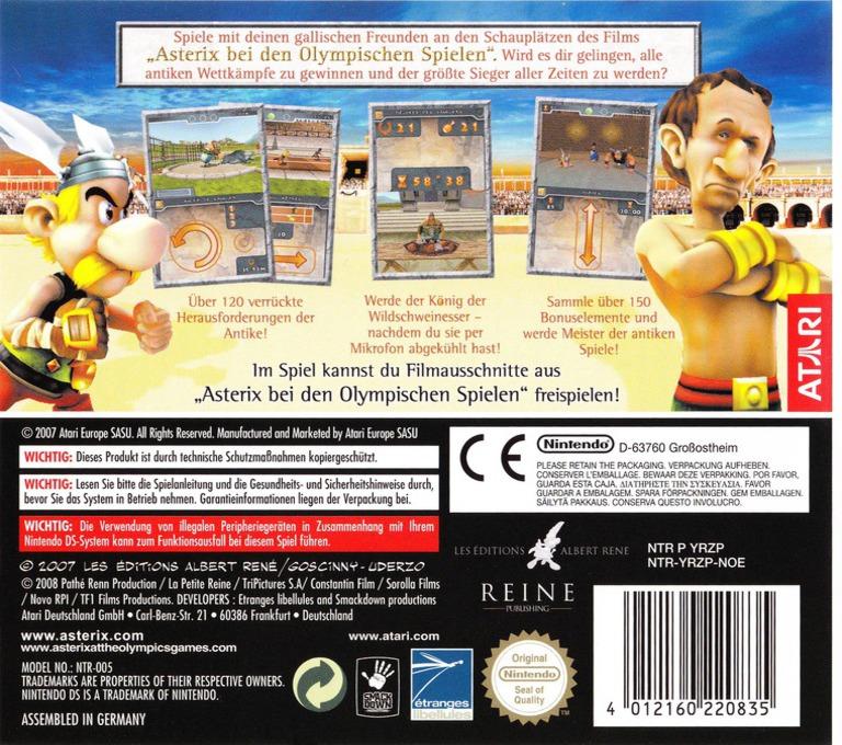 Asterix bei den Olympischen Spielen DS backHQ (YRZP)