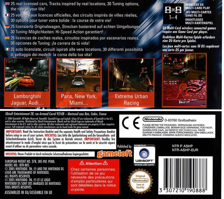 Asphalt - Urban GT DS backHQ (ASHP)