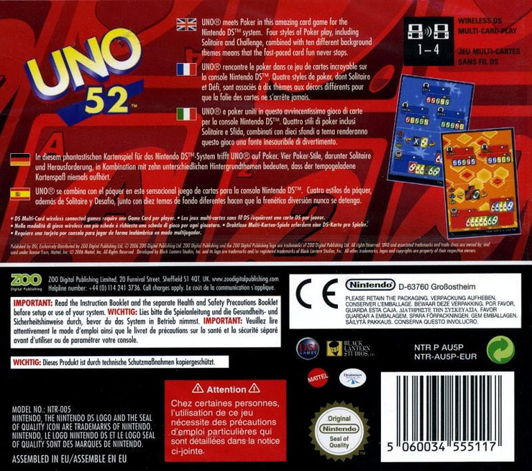 Uno 52 DS backHQ (AU5P)