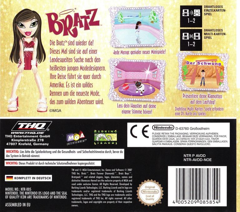 Bratz - Forever Diamondz DS backHQ (AVDD)