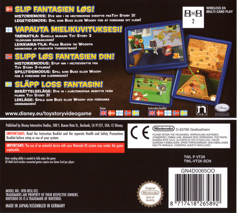 Toy Story 3 DS backHQ (VT3X)