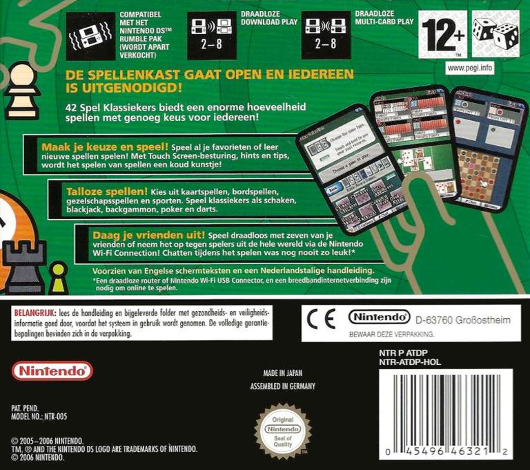 42 Spel Klassiekers DS backHQ (ATDP)