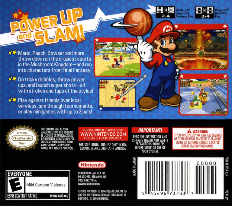 Mario Hoops 3 on 3 DS backHQ (AB3E)