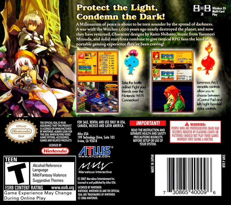 Luminous Arc DS backHQ (ANIE)