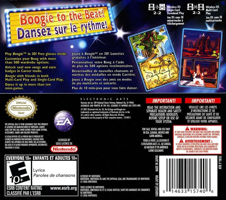 Boogie DS backHQ (YBOE)