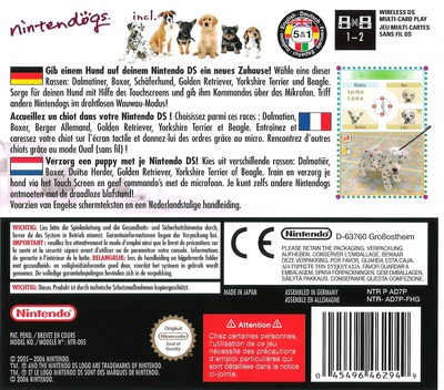 Nintendogs - Dalmatiner & Freunde DS backM (AD7P)