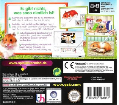 Petz - Hamsterfreunde DS backM (AH3X)