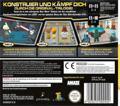 LEGO Star Wars II - Die klassische Trilogie DS backM (AL7P)