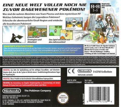 Pokémon - Weisse Edition DS backM (IRAD)