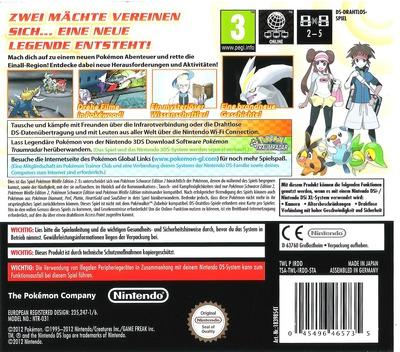 Pokémon - Weisse Edition 2 DS backM (IRDD)