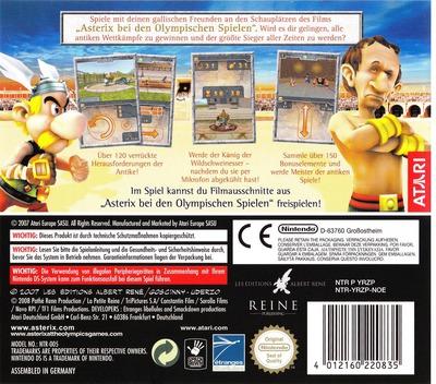 Asterix bei den Olympischen Spielen DS backM (YRZP)