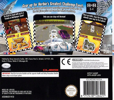 Herbie - Rescue Rally DS backM (AHQP)