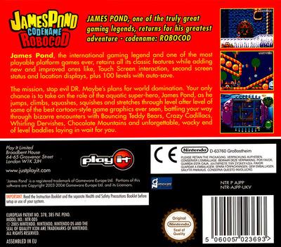 James Pond - Codename Robocod DS backM (AJPP)