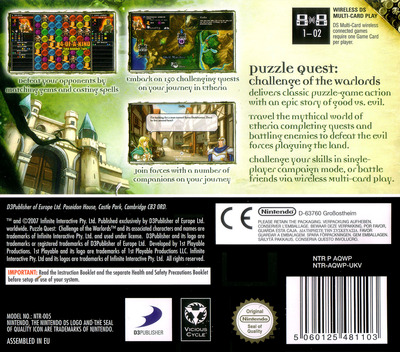 Puzzle Quest - Challenge of the Warlords DS backM (AQWP)