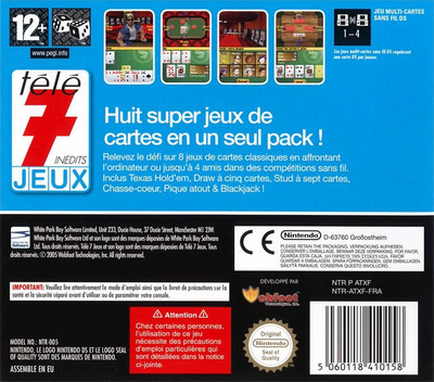 Télé 7 Jeux Inédits - Texas Hold 'em Poker Pack DS backM (ATXF)