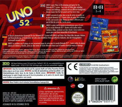 Uno 52 DS backM (AU5P)